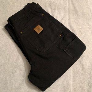 Bear River Mens Size 32x 32 Work Pants Dark Black